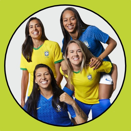 Brazil Women's 2019 Home & Away Kit