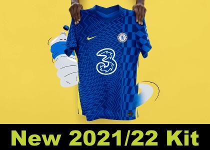 Chelsea home kit 2021/22