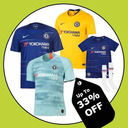Chelsea Football Kit 2018/19