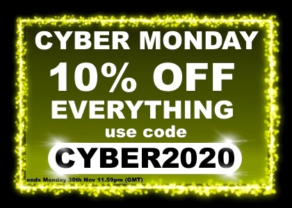 Save 10% on everything with code CYBER2020