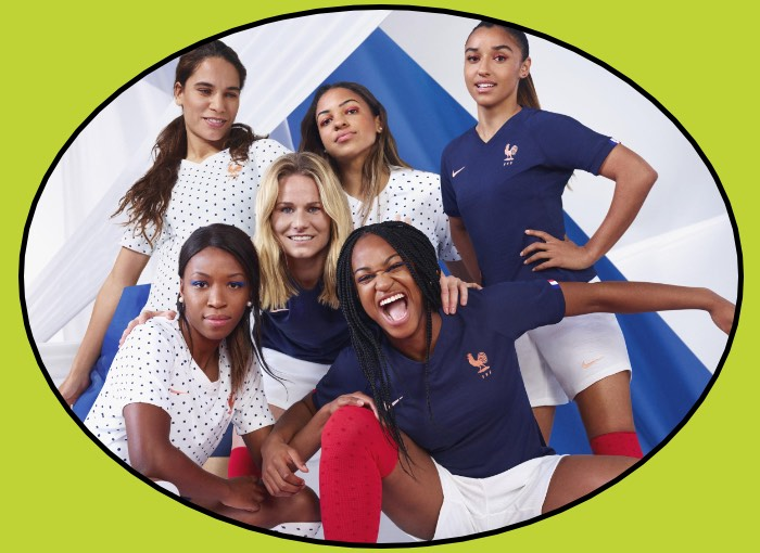 France 2019 Ladies World Cup Kits Home and Away