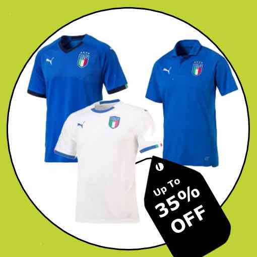 Italy Football Kit 2018