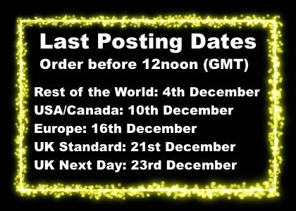 Last posting dates xmas 2020