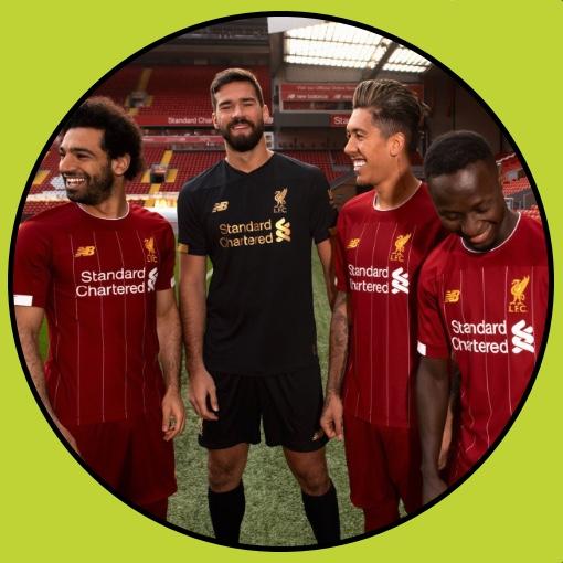 Liverpool Football Kit 2019/20