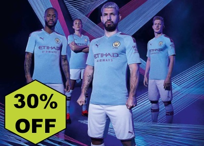 Manchester City 30% OFF kit