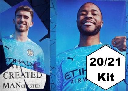 Manchester City 20/21 Home Kit