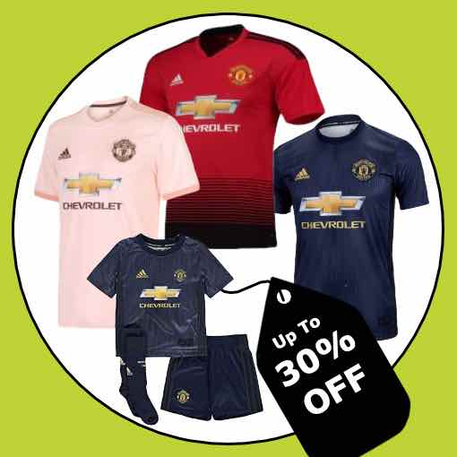 Manchester United Football Kit 2018/19