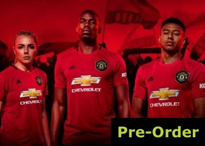 Man Utd 2019/20 Home Kit