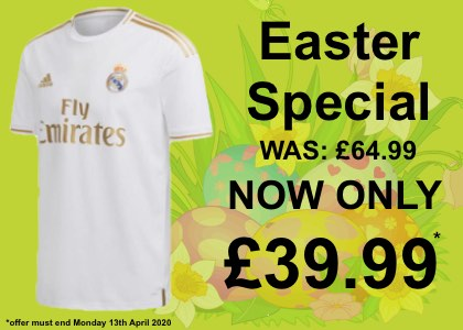 Real Madrid home shirt 2019/20 sale