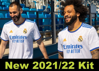 Real Madrid 21/22 home kit