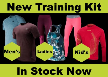 New Running Kit In Stock Now