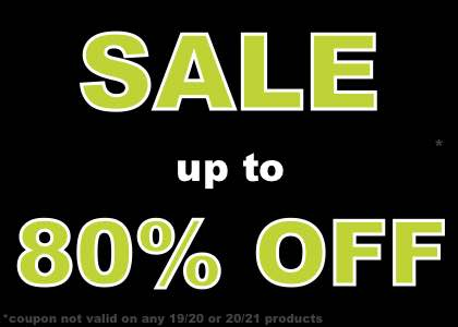 up to 80% OFF selected kits