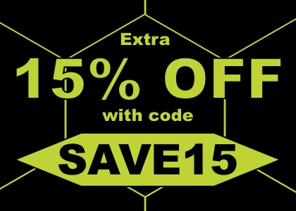 15% OFF everything code SAVE15