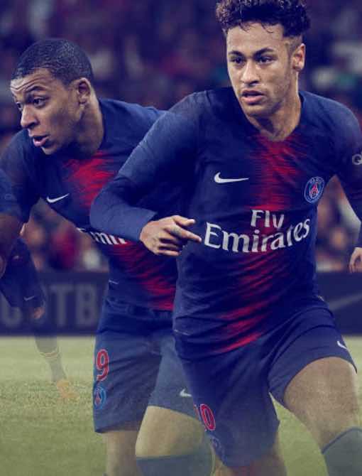 Ligue 1 PSG Home Kit 2018/19