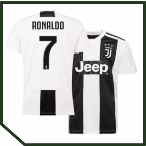 Ronaldo 7 Juventus Home Shirt 2018/19