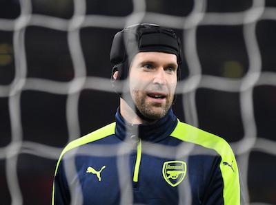 Petr Cech Arsenal goalkeeper
