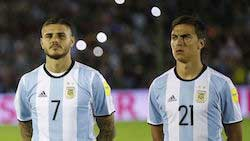 Argentina's World Cup hopes rely on Lionel Messi Dybala Icardi