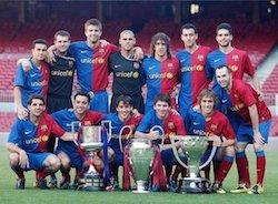 Barcelona 2008/09 Treble