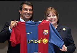 Barcelona 2008/09 Unicef