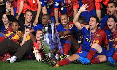 Barcelona 2008/09 Champions League Victory
