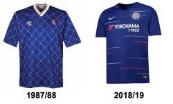 Chelsea disliked home shirts