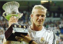 david beckham trophy