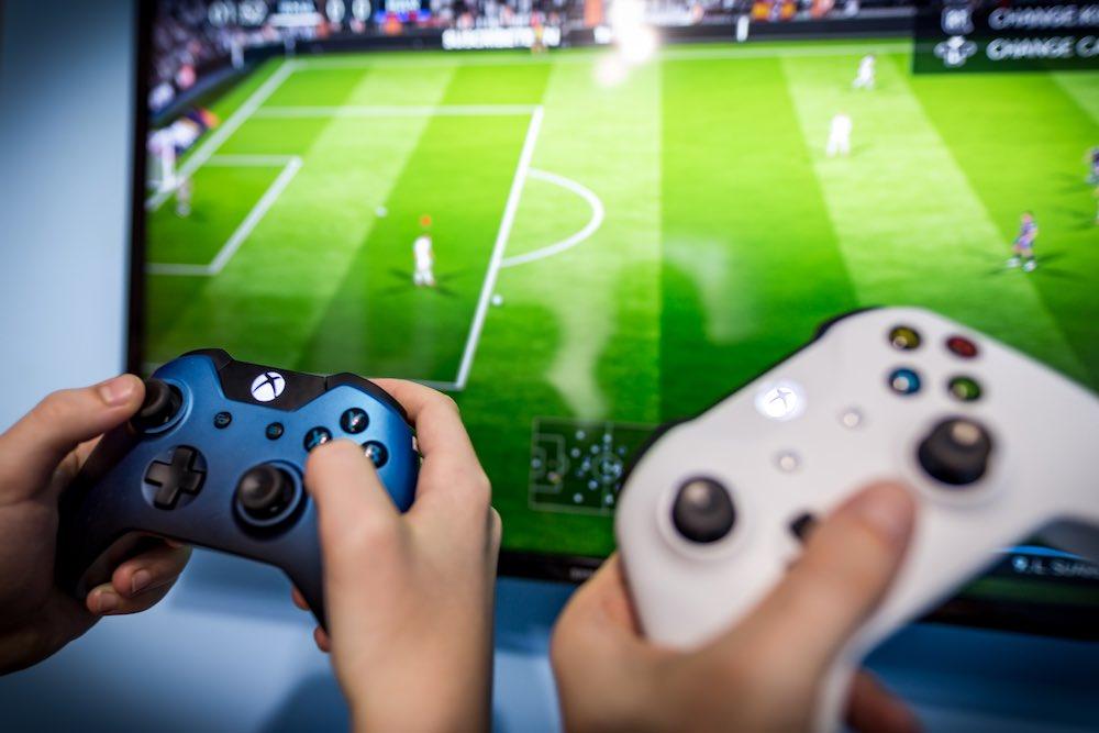 X-box FIFA game