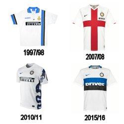 history Inter Milan kit away