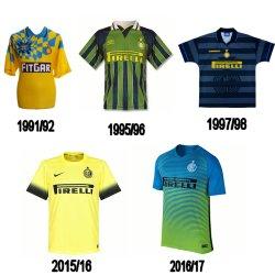history Inter Milan kit third