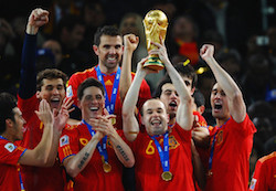 Iniesta helped to define a generation for Spain World Cup