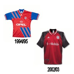 looking back at the bayern munich kits worst home
