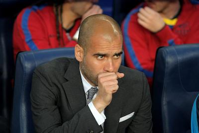 Pep Guardiola Barcelona manager