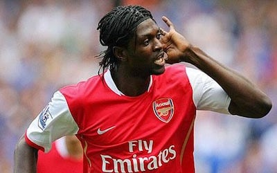 Players That Have Played Under Both Wenger and Mourinho Adebayor