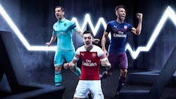 Premier League Football Shirt Launches Arsenal 2018/19