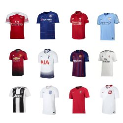 presents football fanatics team kits