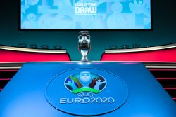 reviewing euro 2020 qualifying draw trophy