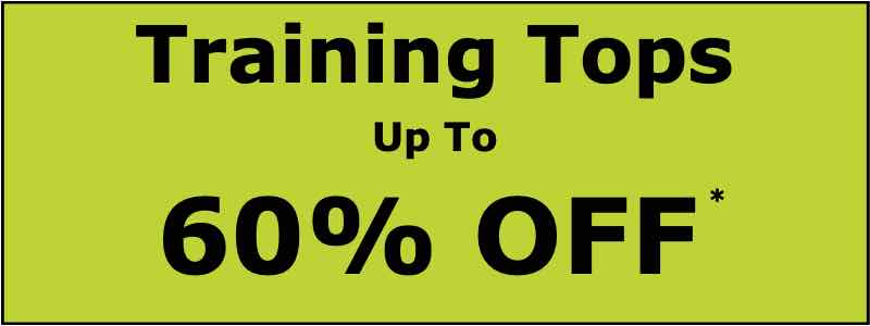 60% OFF Training Tops