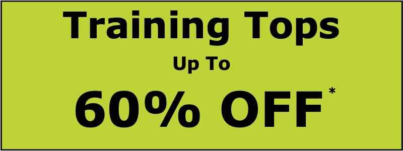 60% OFF Training Tops